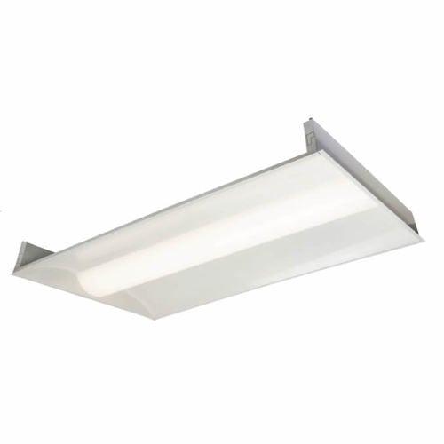 Topaz LED 2 x 4 Center Basket Troffer Panel Light Fixture - Paladin ...